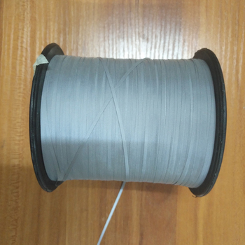 Hivisibility silver grey reflective yarn for knitting
