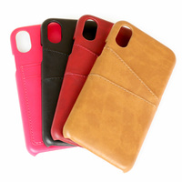 unique factory design fashion wallet card flip case waterproof PU leather mobile phone case custom phone cover for iphoneX