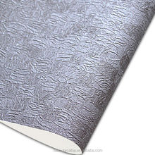 The most specialized luxury morden PVC embossed design Italy wallpaper