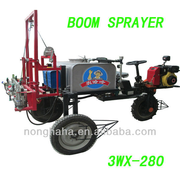 2013 hot sale agricultural machinery 3WX-280 tractor boom sprayer