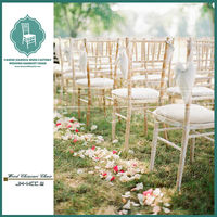 Limewash stacking white washed wedding chiavari chair