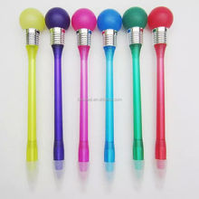 good quality plastic light pen, bouncing pen, pen will bouncing ball
