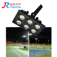 soccer field high mast led outdoor spot light stadium systems lamp 600 watts modular tennis court flood lighting for sale