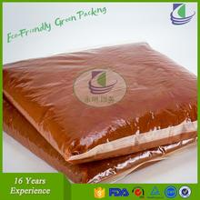 High barrier vacuum embossing packing pouches for food grade with certification of FDA SGS CFIA