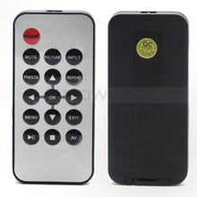 Button Cell Mini TV Set Code Switch 16 Key Universal IR Remote Control For DVD Player