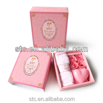 Travel personal skin care bath gift set stc888