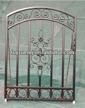 electrical galvanized sample designs wrought metal gate color for stock (factory)