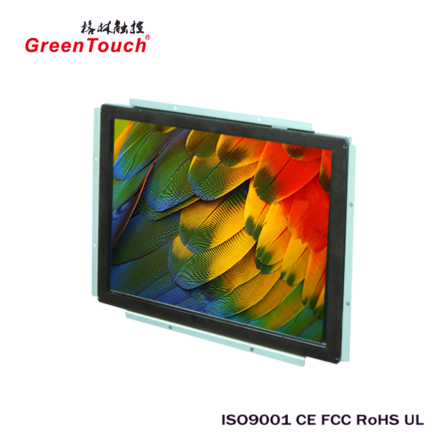 19 inch general touch screen monitor open frame monitor for Indsturial Automation