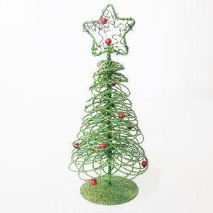 2017 popular christmas tree ornament outdoor metal christmas tree with star decoration