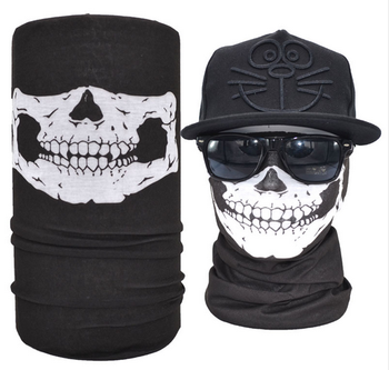Wholesale Sublimation Seamles Skull Face Shield Bandana