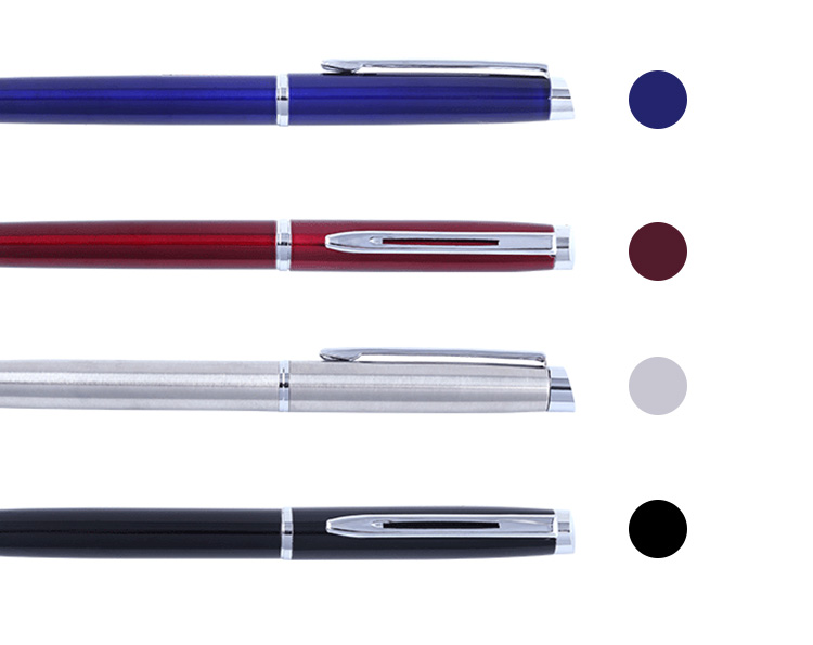 New luxury gift promotion metal ball pens with custom logo advertising ballpoint pen