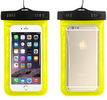 High Quality Eco-friendly PVC Transparent Waterproof Mobile Phone Bag