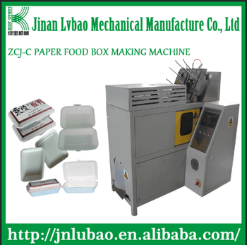 paper lunch box and noodle box molding machine