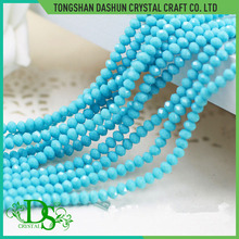 Yiwu crystal rondelle glass beads 4mm glass beads india