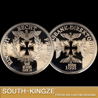 Cut out shape custom challenge coin with cheap price