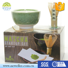 Superior quality bamboo matcha tea sets for tea