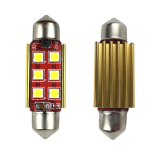 DC 12V Auto Licence Plate Bulb Canbus 31mm 36mm 39mm 41mm Interior Festoon Classic Car LED Reading Light