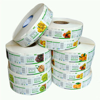 Food safety plastic labels day dots dispensers printing sticker