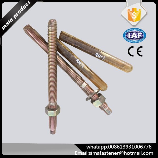 popular concrete anchor bolt with chemical anchor