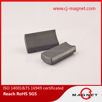 High Trade Assurance Grade 3 arc ferrite magnet Y20 for industrial use