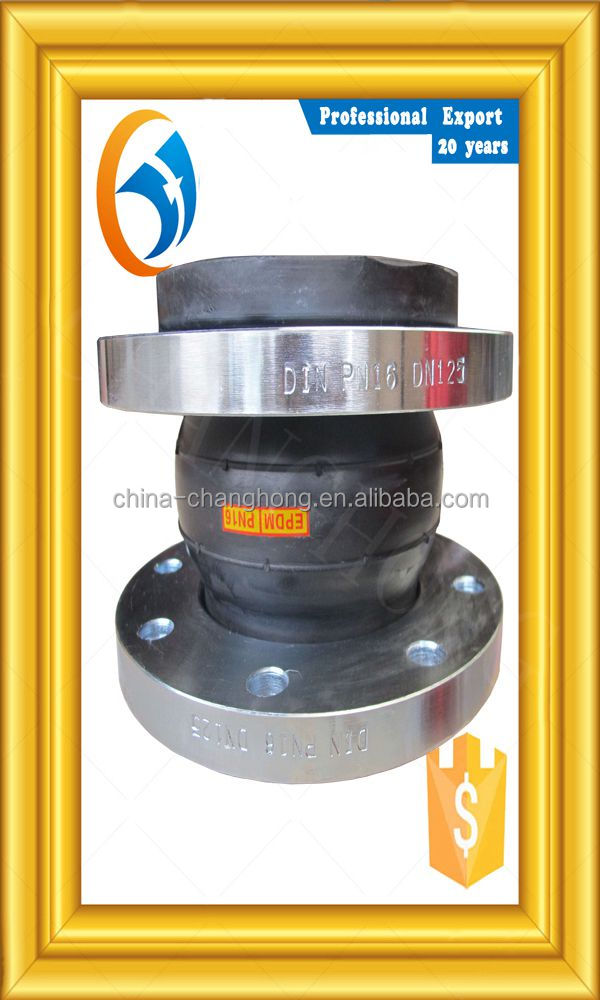 Free sample pipeline flange joint braided flexible concrete pump delivery rubber hose for pipeline