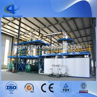 Scrape tire oil/waste plastic oil distillation equipment with high oil yield