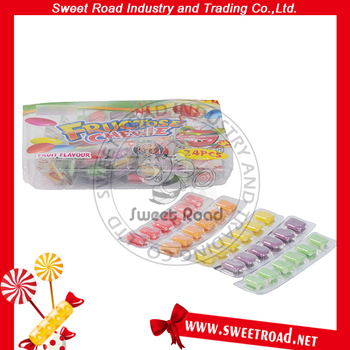 Sweet Road Tablet Fruit Chewy Candy