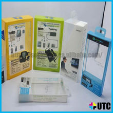 paper box with clear plastic cover,factrory provide plastic box for clothes