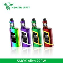 2017 New Vape 3ml/ 2ml 220W SMOK Alien eletronic cigarette
