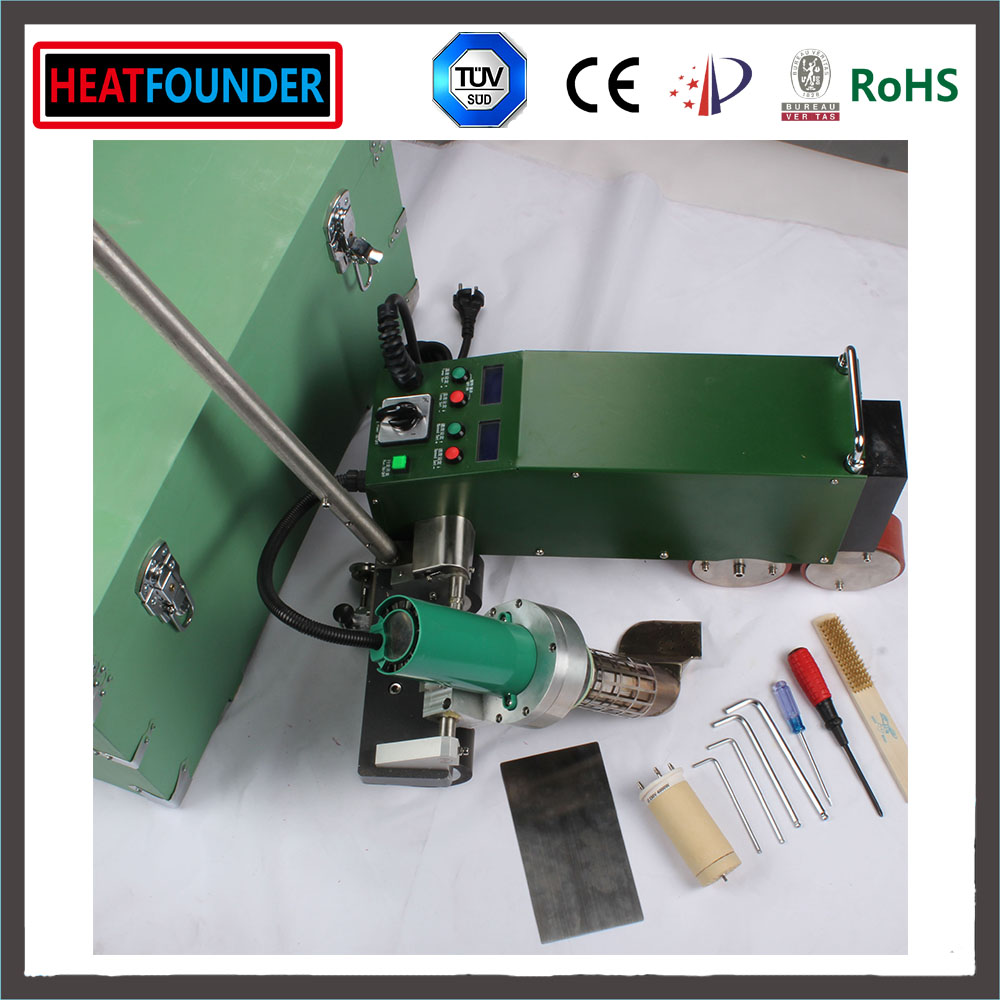 HEATFOUNDER 50-60HZ melt soldering roofing high frequency pvc plastic vinyl welding machine