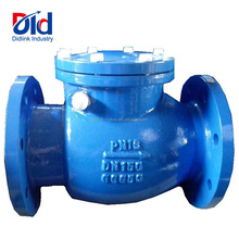 Spring PN16 DN150 GGG50 Water Ball Cast Iron Wafer Swing Metal Check Valve