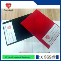 casting top class transparent or colored acrylic sheet