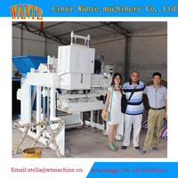 WT10-15 hollow block machine price philippines laying concrete block used