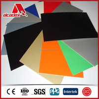 ALCADEX Aluminium Composite available in a range of sheet sizes and colours