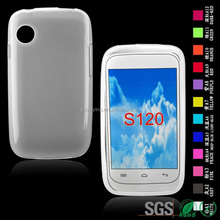 TPU Cell Phone Housing Cover for smartphone Lanix S120