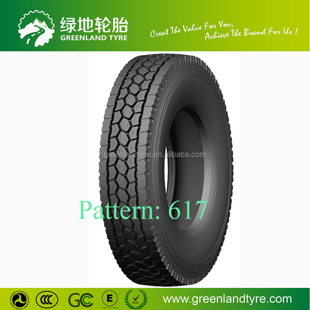 Truck Tires Low Profile 22.5 11r 22.5 Tires Direct from China
