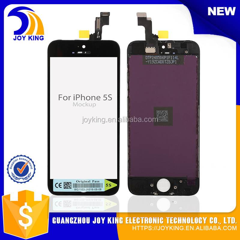 Wholesale Original Grade AAA+,Digitizer for iphone 5s screen lcd , for iPhone 5 Screen display