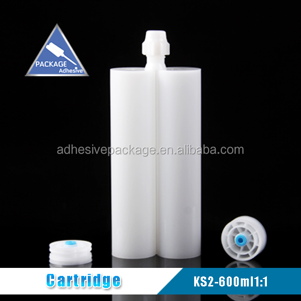 KS-2 600ml 1:1 ab glue epoxy resin empty cartridge