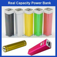 FACTORY HOT SALE Lipstick Colorful 5000mah golf mobile power bank