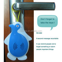 Privacy Protection Smart Magnetic Door Knob Sensor Alarm Handrail Sound Alarm