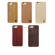 Eco Friendly customized real wood cell phone case For Iphone 6