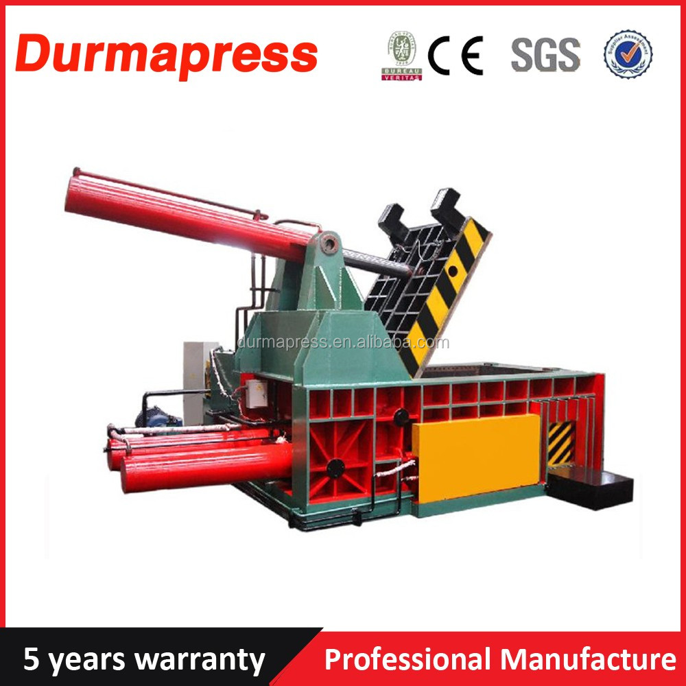 Factory price Y81-160A hydraulic scrap metal recycle machine compactor for iron aluminum baling press machine