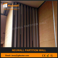 Acoustic Sliding partition wall/sliding folding wall/movable soundproof wall for exhibition and conference room