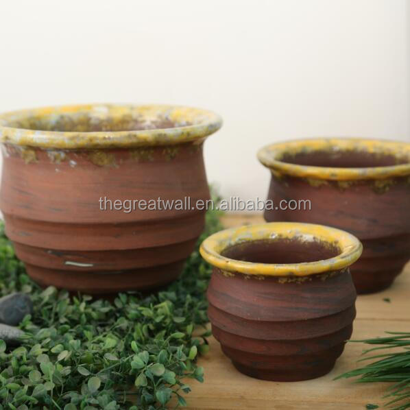 wholesale outdoor terracotta planters, old fashioned flower pots