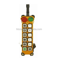 F24-12S/12D single/double speed 12 buttons wireless radio remote control for cranes