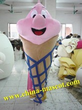 customized frozen yogurt mascot costume