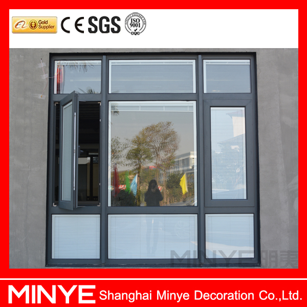 Cheap price double glazed tempered glass casement windows for Cheap double glazing