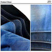 Enviroment Protect fabric garment fastness cotton washed twill denim fabric yarn dyed denim fabric