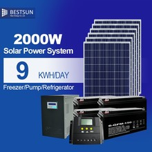 New Design 2kw Solar Power System for Home Plug and Play