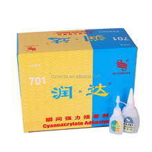 Chinese Factory Multifunctional Clear Cyanoacrylate Adhesive Instant Glue